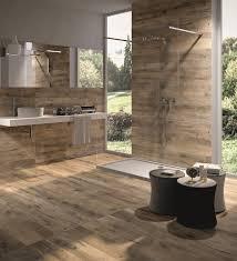 Beautiful Ideas Wood Tile Bathroom Floor Look 17 Distressed Rustic Modern
