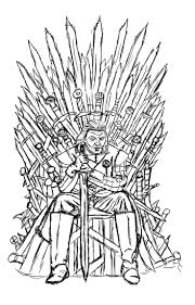 Might Be Useful For Placement Scale Free Coloring Page Adult Game Of Throne Ned Starck By Luxame