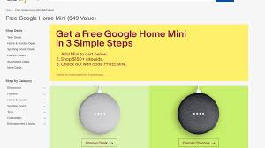 How To Get A Free Google Home Mini From Ebay Ebay July 4th Coupon Takes 15 Off Power Tools Home Goods Code Save On Tech Cluding Headphones Speakers Genos Garage Inc Codes Ebay Bbb Coupons Red Pocket 5gb Year Plan For Att And Sprint 20400 How To Apply Your Promo Code Here At Rosegal By 3 Ways To Buy Without Ypal Wikihow Free Online Arbitrage Sourcing Discounts Honey 5 25 Or More Ymmv Slickdealsnet Any Purchase Herzog Meier Mazda Aliexpress 90 November 2019 Save Big Use Can I Add A Voucher Honey