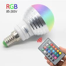 Tubular Light Bulb For Ceramic Christmas Tree by 3w Rgb Lampada De Led Lamp E27 220v Spotlight Ampoule Led Bulbs