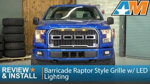F150 Barricade Raptor Style Grille W/ LED Lighting Review & Install ... Ford Redesigns Its Bestselling F150 Pickup For 2018 Egr 2016 Bolton Style Fender Flares Er Truck Beds Sale Steel Bodied Cm Styling Truck New Coupons 5 Meters Auto Motorcycle Reflective Warning Tape Stickers Car Fords 2015 F6f750 Trucks Come With Fresh Engine And Light Green Camo Styling Body Rearview Mirror Decal Retro 2014 Silverado By Mallett And Kooks Sema Gm Authority Photos Hyundai Santa Cruz From Article Future Pickup Bonotech En Trailer Service Home Facebook 1955 Chevrolet Cameo Carrier Ton The Best Of Pictures Specs More Digital Trends