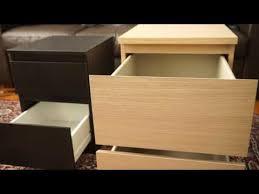 Ikea Kullen Dresser Assembly by Ikea 2 Drawer Chests Kullen Vs Malm Youtube