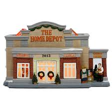 Charlie Brown Christmas Tree Home Depot by The Home Depot Lighted Village House Is A Great Addition To Your