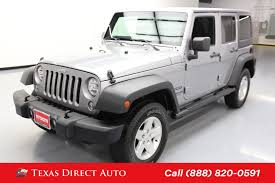 100 Craigslist Cars And Trucks For Sale Houston Tx Jeep Wrangler For In TX 77002 Autotrader