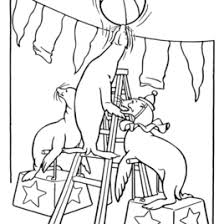 Printable Coloring Pages Of Circus Animals