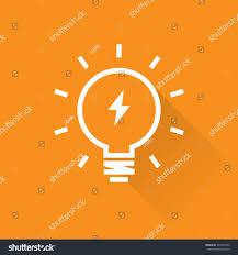 line bright light bulb icon stock vector 247077949