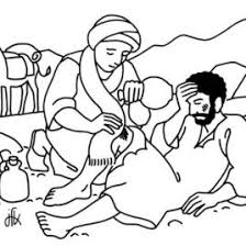 Good Samaritan Parable Bible 519035 A Coloring Pages For Free 2015