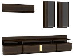 casa padrino luxus wohnzimmer tv schrank set braun grau gold 1 tv schrank 2 hängeschränke 1 wandregal edles wohnzimmer möbel set luxus