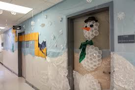 Funny Christmas Office Door Decorating Ideas by The Vol State Insider December 2013