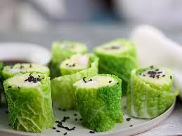 croustillant de saumon frais au chou vert recettes femme actuelle