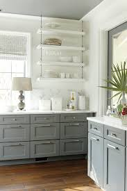 Gray Kitchen Cabinets Colors 66 Gray Kitchen Design Ideas Decoholic