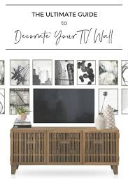 100 Decorated Wall The Ultimate Guide To Decorating A TV Jessica Devlin Design
