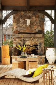 Modest Decoration Outside Fireplace Designs Best 25 Outdoor