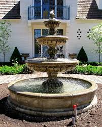 Lighting Outdoor Fountains Exalted With Regard To Cheap Remodel 9