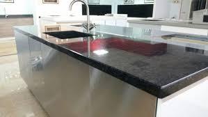 granit arbeitsplatte sc black