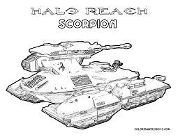 Tank Coloring Pages Free War Military 1