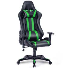 Costway: Costway Executive Racing Style High Back Reclining Chair ... Vertagear Series Line Gaming Chair Black White Front Where Can Find Fniture Luxury Chairs Walmart For Excellent Recliner Best Computer Top 26 Handpicked Sharkoon Skiller Sgs2 Level Up Cougar Armor Video Game For Sale Room Prices Brands Which Is The Xbox One In 2017 12 Of May 2019 Reviews Gameauthority Webaround Green Screenprivacy Screen Perfect Streamers Snakebyte Fortnite Akracing Xrocker Gaming Chair Ps4 One Hardly Used Portsmouth