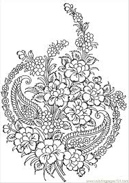 Coloring Page Complex Flower Pages About 17 Best Images Adult Aka Stress