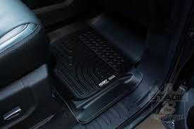 Husky Liner Weatherbeater Floor Mats by 2017 2018 F250 U0026 F350 Husky Liners Weatherbeater Front Floor