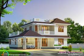 Beautiful Kerala Home Jpg 1600 Sloping Roof House 2680 Square Kerala Home Design