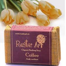 Rustic Art Organic Coffee Soap 100GM