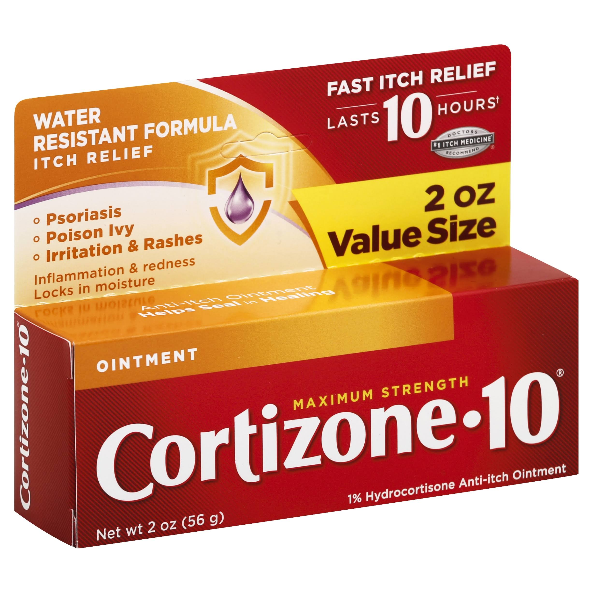 Cortizone-10 Maximum Strength Anti-Itch Ointment - 2oz