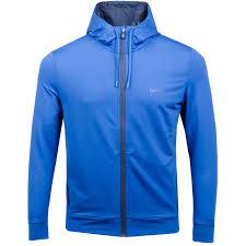 hugo boss saggytech open blue hoodies trendysports com