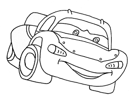 Cartoon Car Coloring Pages For Boys