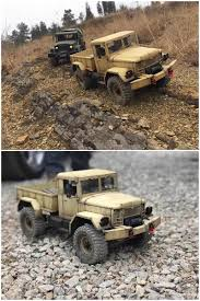 100 Rc Army Trucks WPL WPLB1 4WD RC Crawler RTR Green