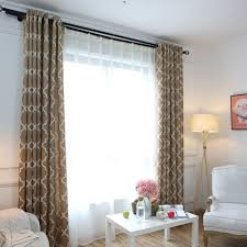 Modern Window Curtains For Living Room by Aliexpress Com Buy Modern Window Curtains Home Decoration