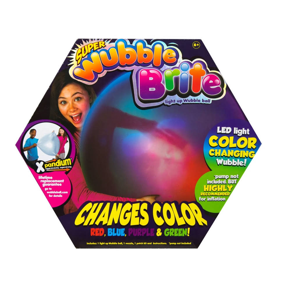 Super Wubble Bubble Ball Super Wubble Brite Ball - with Pump
