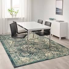 vonsbäk teppich kurzflor grün 200x300 cm