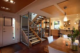 Cargo Container Homes Interiors Builtfromshippingcontainers ... Container Home Design Ideas 15 Amazing Shipping Living Apartment Plans In Interior Gallery Terrific House Floor Images Tikspor Fresh Builders Oklahoma 12579 Plan Beautiful Decorating Simple Kitchen Homes High Country Collection With Fabric 131 Best Images On Pinterest Exciting Single 49 Interiors With Designs And