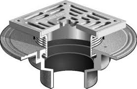 Josam Floor Drain 30000 by F1000 S Floor Drain With Heavy Duty Square Stainless Steel