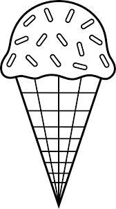 Popsicle Clip Art Black And White Medium size