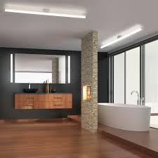 helestra led bad spiegelleuchte loom 60cm 1130lm chrom warmweiß