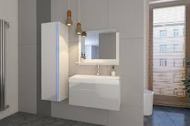 weiße möbel für badezimmer ohne waschbecken 2 80 cm