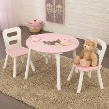 Kidkraft Deluxe Vanity And Chair Set by Conjunto De Mesa Y Dos Sillas Para Niñas En Madera De La Marca