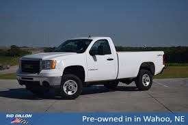 Pre-Owned 2008 GMC Sierra 2500HD Work Truck Regular Cab In Wahoo ... 2019 Gmc Sierra First Look New Truck Pushes Past Silverado With 42017 2018 Sierra Rally Truck Hood Racing Vinyl Used 2014 1500 Base Rwd For Sale In Pauls Valley Ok In Hammond New For Near Baton 2010 3500hd Work At Dave Delaneys Columbia Day 2016 All Terrain Trucks Premium Grade Lineup Of Talk Preowned 2008 2500hd Regular Cab Wahoo First Drive Review Gms Expensive Body Equipment Inc Providing Equipment Msa Retro Design Motsports Authority