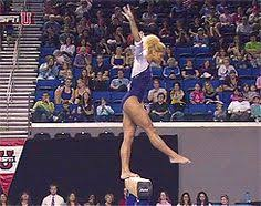 Usag Level 3 Floor Routine 2014 by Mackenzie Caquatto Before Performing On The Balance Beam