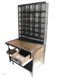 bureau metal bois bureau industriel metal et bois bureau caisson bureau industriel