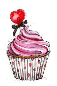 pink cupcake made with strawberries raspberries and love D