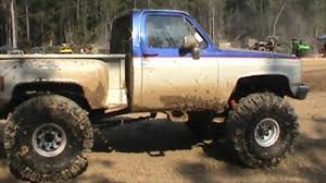 100 Badass Mud Trucks FAST STEPSIDE CHEVY TRUCK