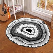 3d antike holzmaserung jährliche ring runde teppich teppiche teppiche für schlafzimmer badezimmer wohnzimmer holz matten küche eingang matte