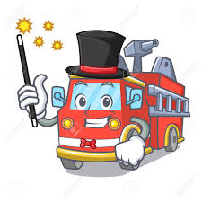 Magician Fire Truck Mascot Cartoon Royalty Free Cliparts, Vectors ... Fire Man With A Truck In The City Firefighter Profession Police Fire Truck Character Cartoon Royalty Free Vector Cartoon Coloring Page Vehicle Pages 6 Cute Toy Cliparts Vectors Pictures Download Clip Art Appmink Build A Trucks Cartoons For Kids Youtube Grunge Background Stock Illustration Pixel Design Stylized And Magician Mascot King Of 2019 Thanksgiving 15 Color For