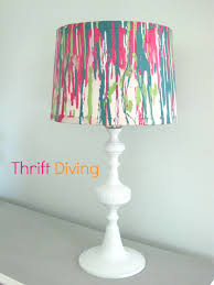 Uno Fitter Table Lamp Shades by Good Painting A Lamp Shade 49 On Hand Painted Lamp Shades Table