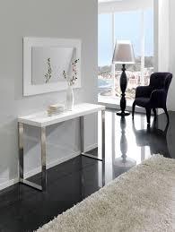 le sur pied design pas cher miroir salon design pas cher 14 console murale blanc laqu avec