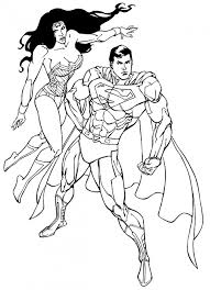 Strikingly Inpiration Spider Woman Coloring Pages Superman Wonder