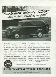 100 1937 Gmc Truck Built For Work Designed For Economy GMC Panel Ad T