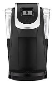 Keurig K250 Single Serve Programmable K Cup Pod Coffee Maker Black Discontinued